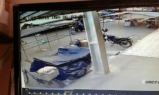 Bandidos assaltam na feira livre de Nova Floresta na manhã deste domingo