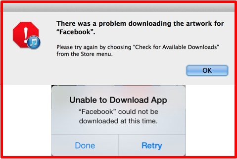 Why can't I download facebook app