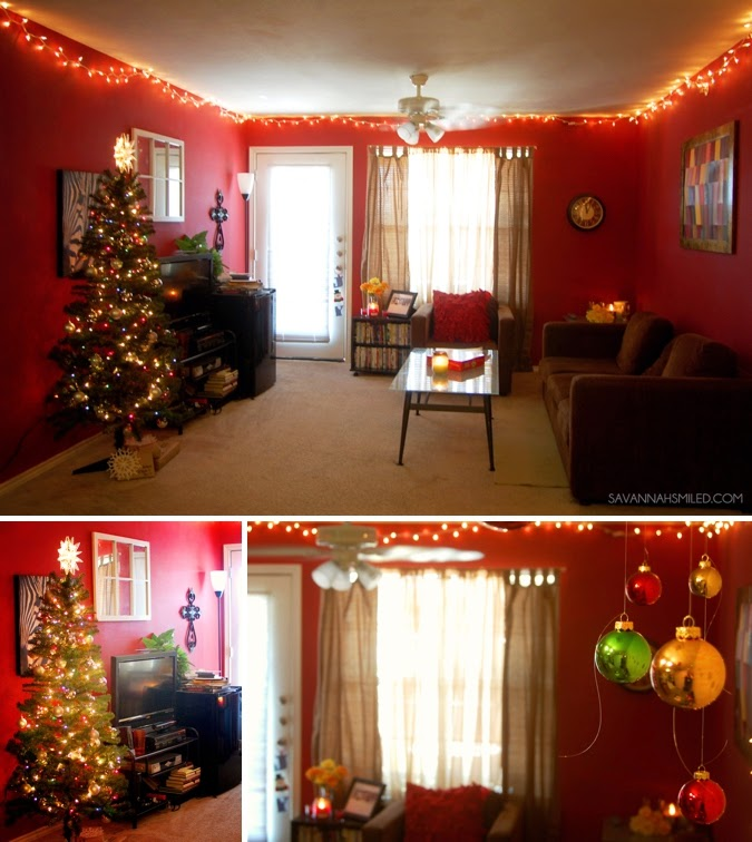 Gateway At Denton College Apartment Christmas Decorations Photo