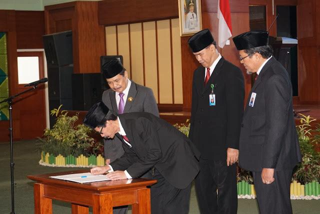 Wakil Gubernur Kukuhkan Kepala Perwakilan BPKP Prov Kalsel