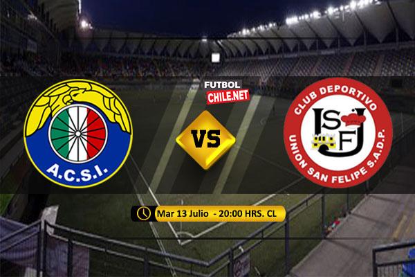 Audax Italiano y Unión San Felipe igualaron sin goles por los Octavos de Final Ida de la Copa Chile