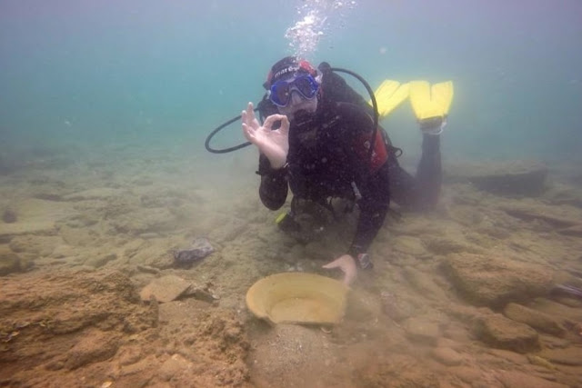 Under the sea: antiquities make way for Israel's Leviathan pipeline