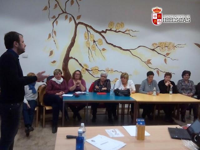 Las directivas de colectivos participaron en una jornada formativa. IMAGEN COMUNICACION ILLESCAS