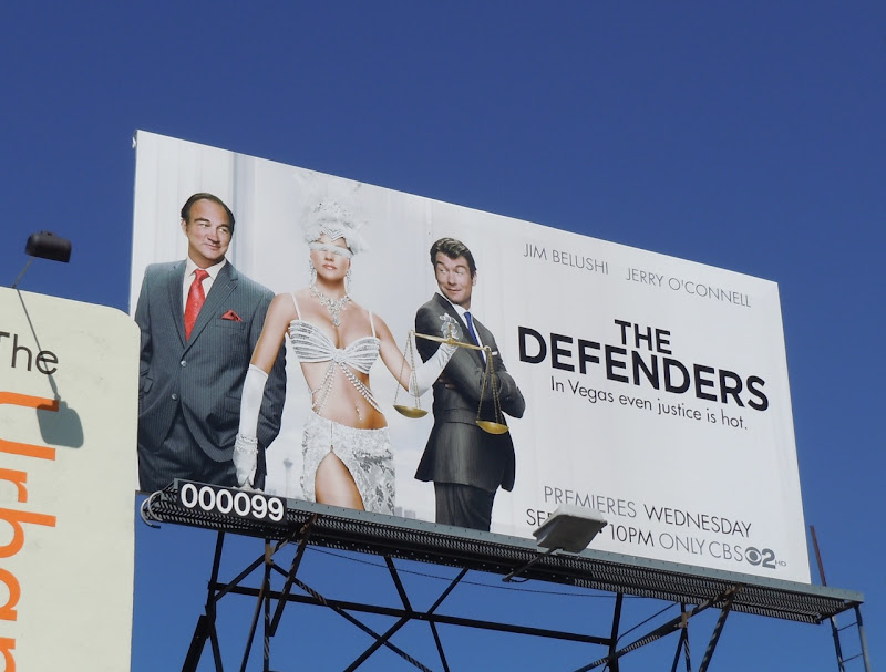 The Defenders Natalie Cohen TV billboard