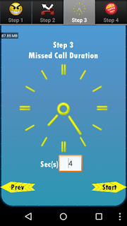 5 second me 100 Miss Call kaise kare ?