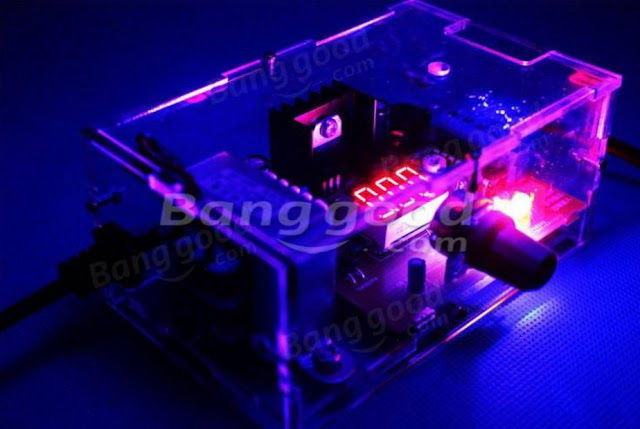 Adjustable Voltage Power Supply Board Kit With Case 220v