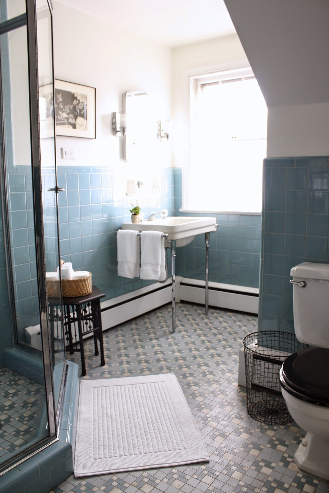 Blue Bathrooms Pictures Meet Me In Philadelphia Pre Holiday Spruce Up The