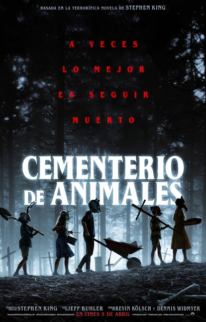 Cementerio de animales, trailer, cine, Stephen King, poster