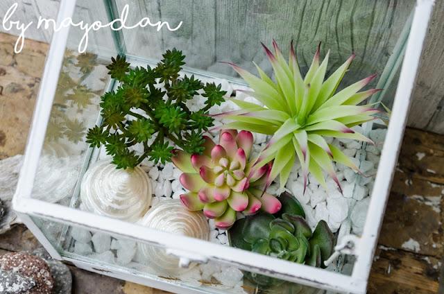 Dekoration mit Pflanzen