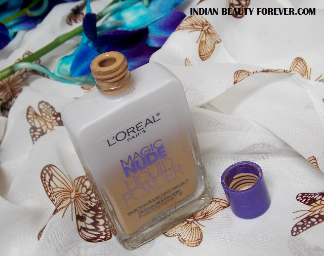 L'Oreal Paris Nµde Magic Foundation in Sun Beige review
