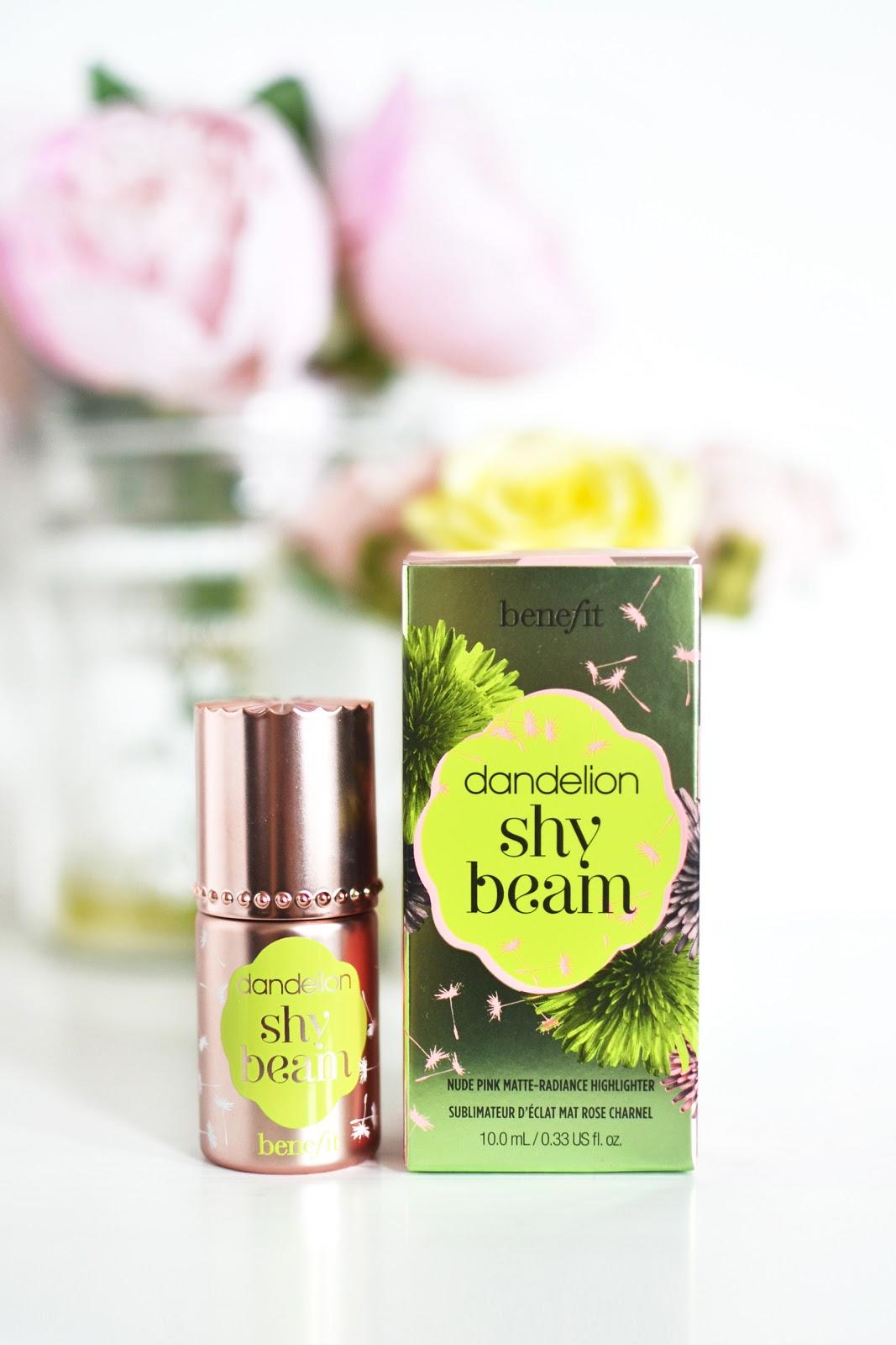Benefit's Dandelion Shy Beam