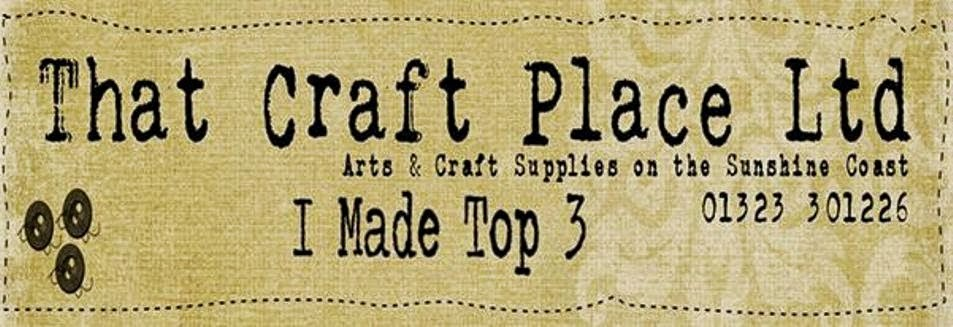 That Craft Place Top 3 placed winner