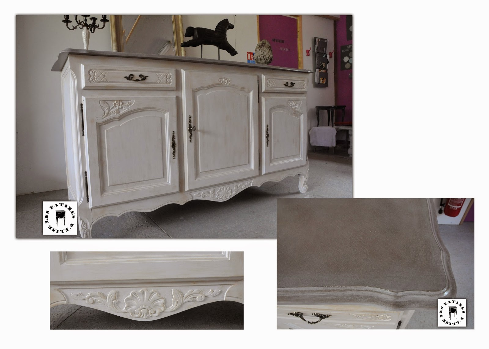 transformer buffet en meuble salle de bain customiser un meuble en pin peindre un meuble en. Black Bedroom Furniture Sets. Home Design Ideas