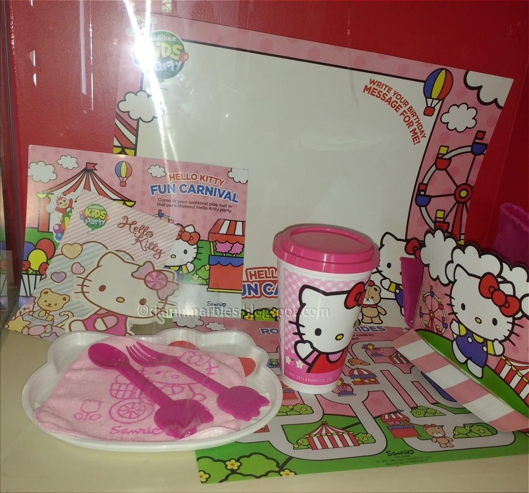 Jollibee Birthday Party (Hello Kitty Theme Package) 2018