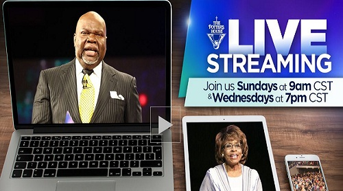 Live Streaming - TD Jakes Ministries