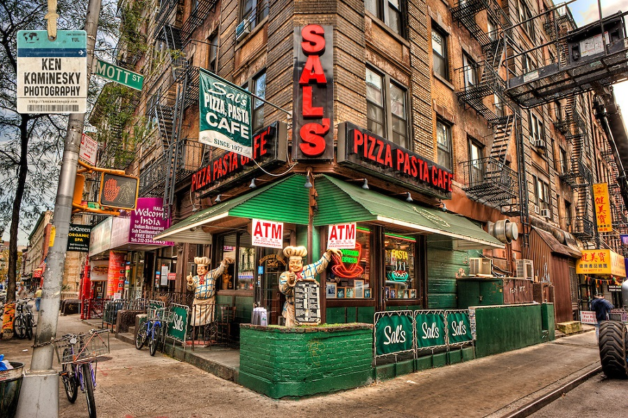 Pizza Restaurants New York City Little Italy