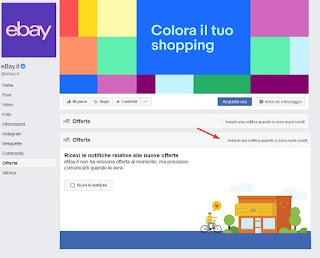 eBay Facebook