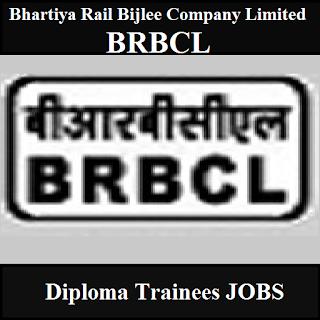 Bhartiya Rail Bijlee Company Limited, BRBCL, BIhar, Diploma Trainee, Graduation, freejobalert, Sarkari Naukri, Latest Jobs, brbcl logo