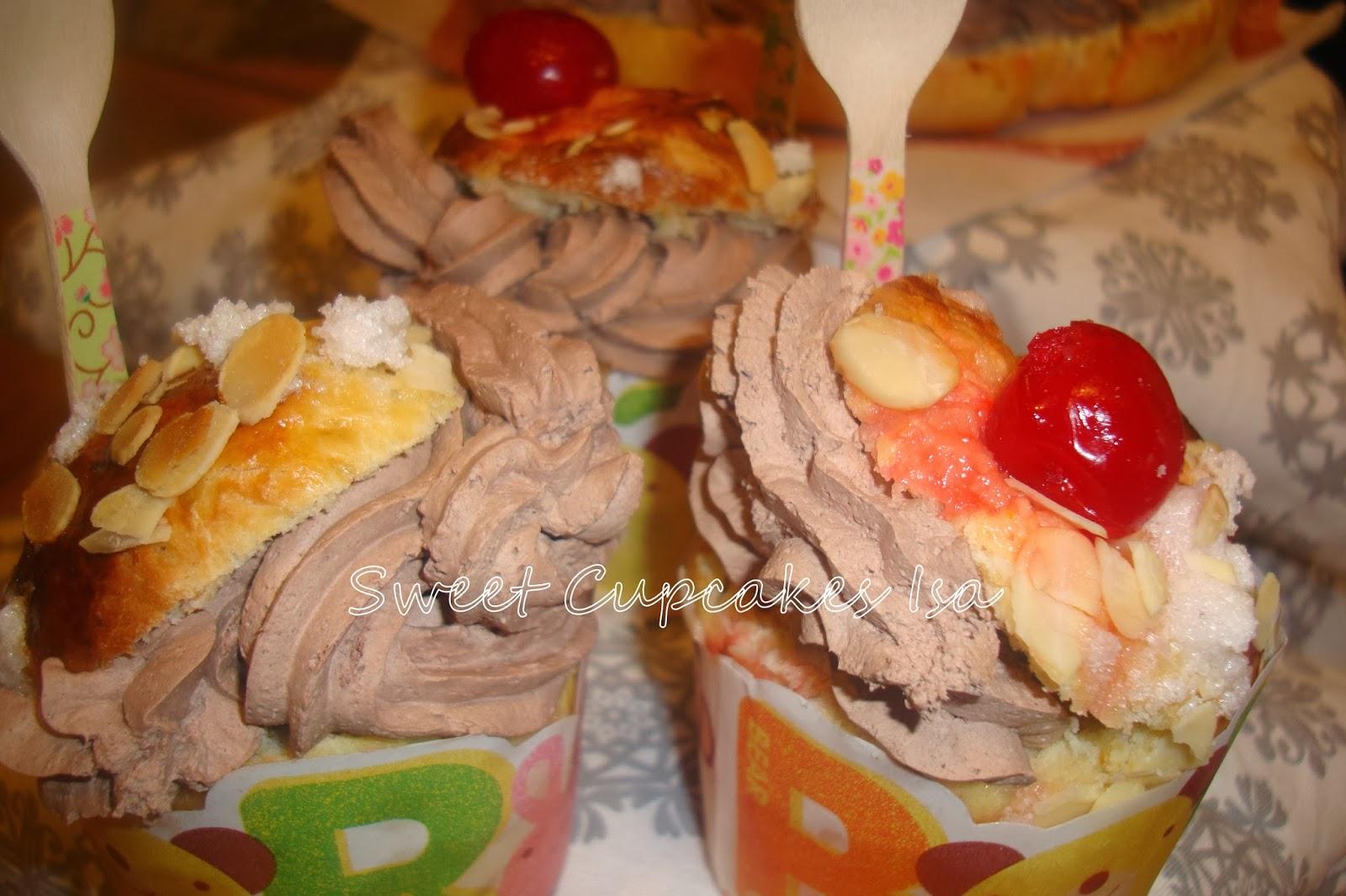 cupcakes de roscon