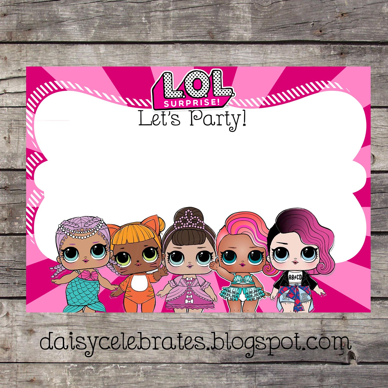 Daisy Celebrates Lol Surprise Birthday Party Files