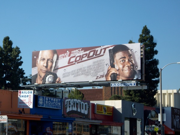 Cop Out film billboard