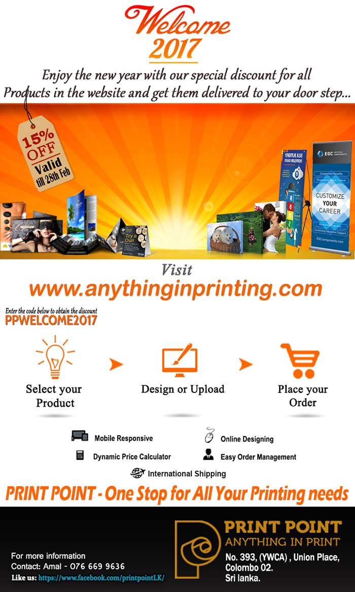 Anything in Printing | Print Point (Pvt) Ltd, Sri Lanka