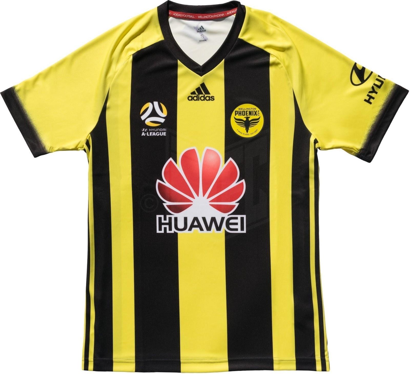 9955d2d621 Adidas divulga as novas camisas do Wellington Phoenix - Show de Camisas