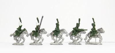 Dragoons (Belgian style) x 5: