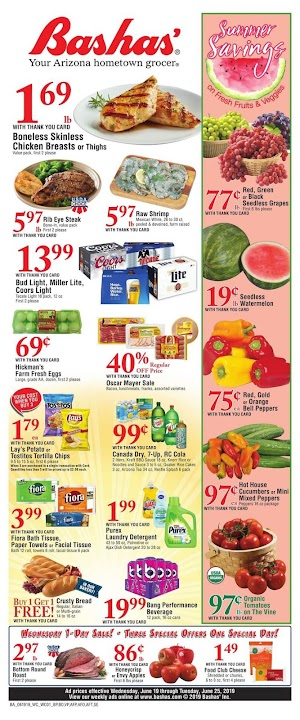 Bashas Ad This Week June 26 - July 2, 2019