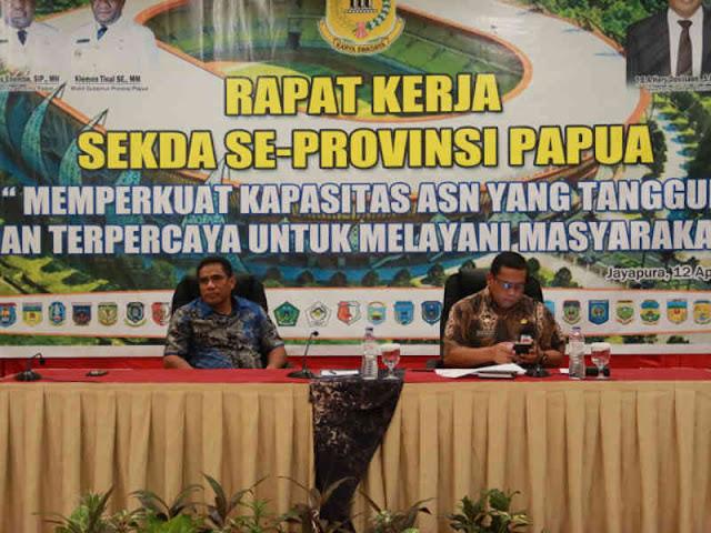 Hery Dosinaen Ungkap Rencana Pembentukan Forum Sekda Seluruh Papua