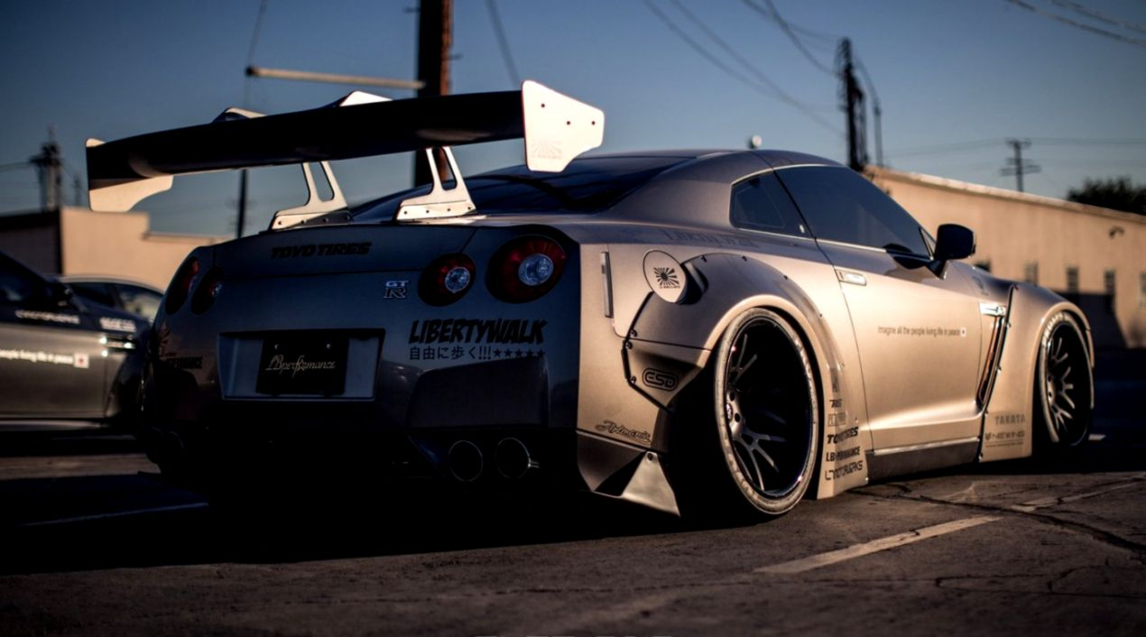 Nissan Gt R Tuning Car Hd Wallpaper Wallpapers Beautiful