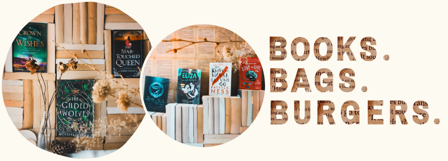 Books.Bags.Burgers.