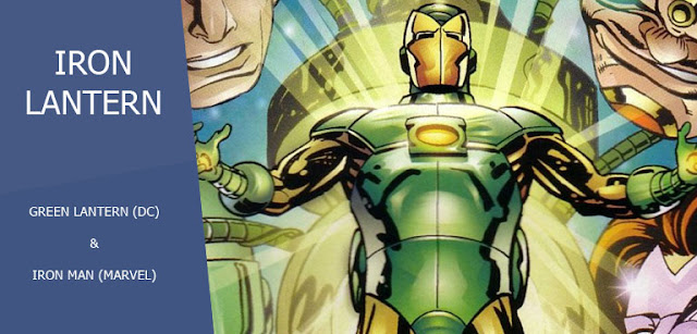 Iron Lantern (Hal Stark) dalam Amalgam Universe