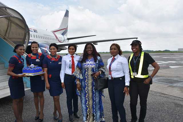 Air Peace all-female flight gets rousing ovation in Lagos, Abuja, Owerri