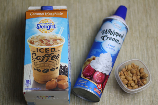 Make yourself a coffee-house quality iced coffee drink in minutes with the International Delight Caramel Macchiato.