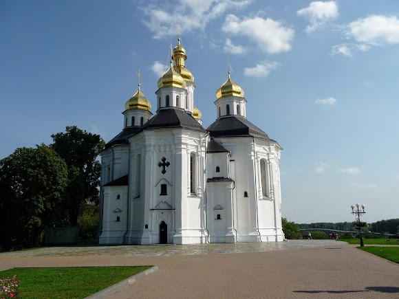 Чернигов. Проспект Мира. Екатерининская церковь, 1715 г.