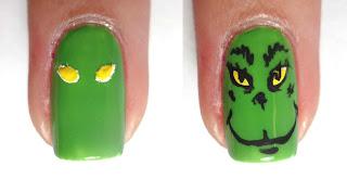 Mr. Grinch Nail