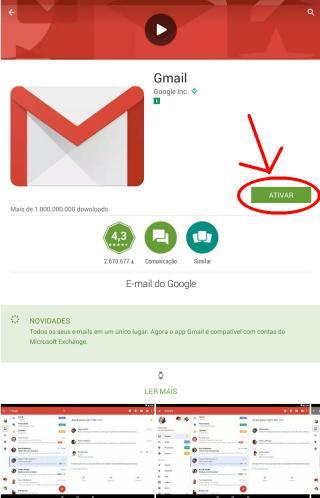 Como entrar no Gmail no celular