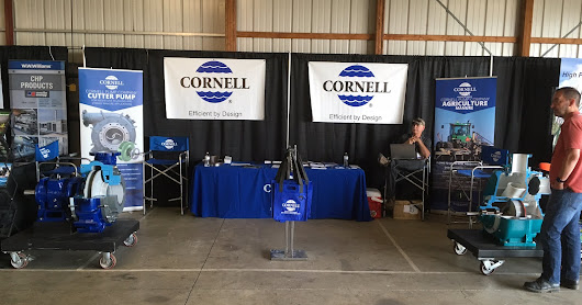 Cornell Pump highlights new 6819MPC pump at Manure Expo