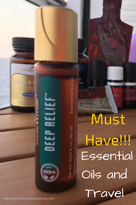 Must have essential oils for travel and exercise