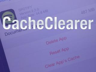 Cara Bersihkan Cache Aplikasi di iPhone dengan CacheClearer