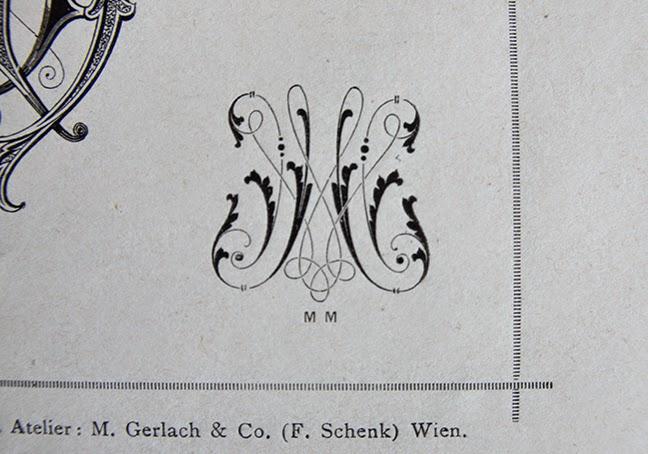 Müllerin Art: Monogramm-Muster (Muster-Mittwoch 109)