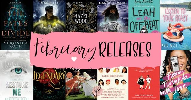 YA February Releases | 2018