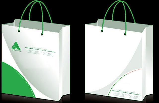 các loại mẫu in túi giấy