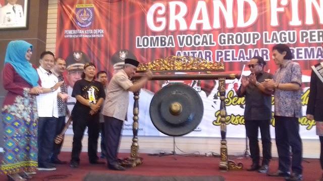 Walikota Buka Grand Final Lomba Menyanyi Lagu Perjuangan