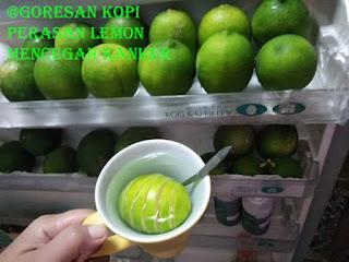 mencegah kanker dengan lemon