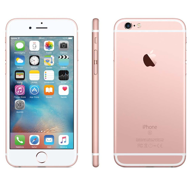 iPhone 6s Apple com 64GB e Tela 4,7