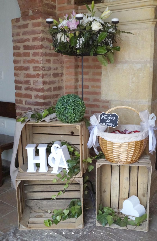 La boda de A&H diseño de Habitan2 eventos | Eventos personalizados y únicos con toque handmade | Decoración handmade para hogar y eventos