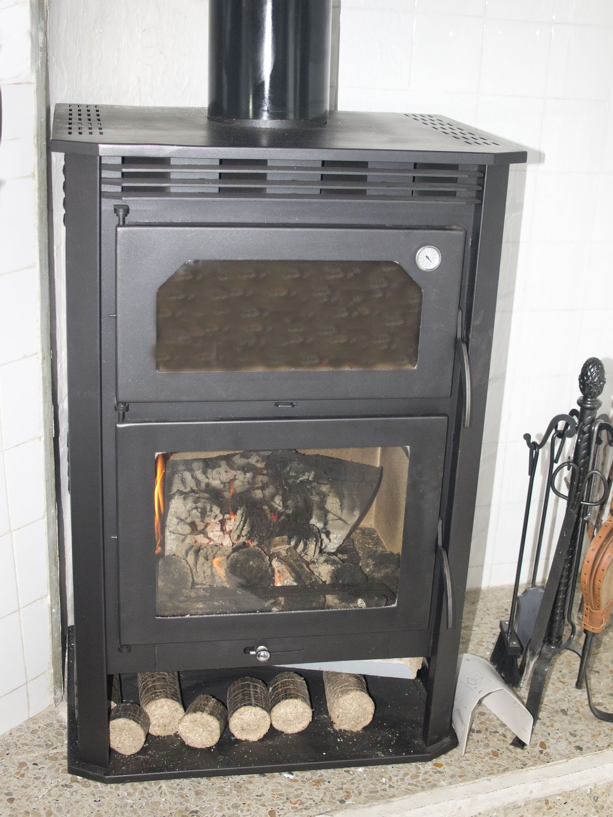 El aroma de idania pan en horno de le a - Como hacer una cocina de lena ...