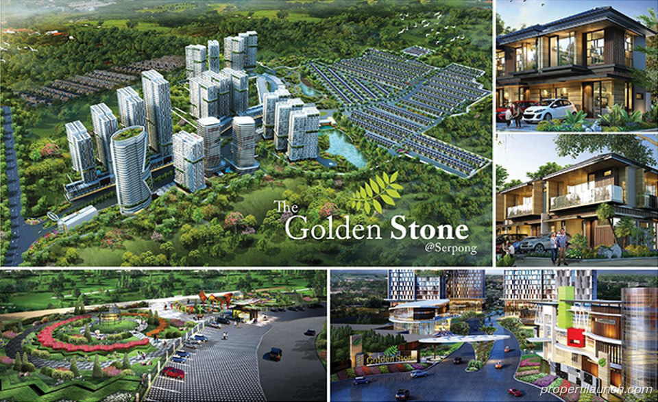 The Golden Stone Serpong